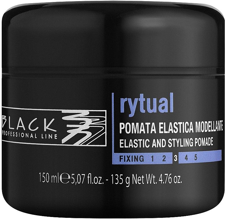 Modelująca pomada do włosów - Black Professional Line Rytual — фото N1