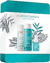 Kup Zestaw - Moroccanoil Color Complete Holiday Set (shmp/250ml + h/cond/250ml + h/spr/50ml)