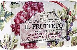 Kup Mydło kosmetyczne Czerwone winogrona i jagody - Nesti Dante Il Frutteto