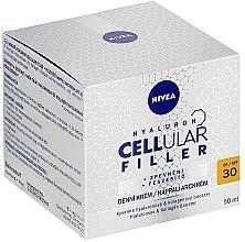 Przeciwzmarszczkowy krem na dzień SPF 30 - Nivea Hyaluron Cellular Filler Cream — фото N2