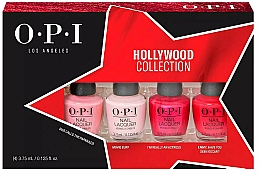 Kup Zestaw - O.P.I. Hollywood Collection Nail Lacquer Set (lacquer/4x3.75ml)