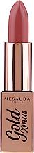 Kup Szminka do ust - Mesauda Milano Gold Xmas Lipstick (tester)