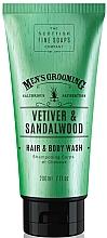 Kup Szampon-żel pod prysznic dla mężczyzn Wetyweria i drzewo sandałowe - Scottish Fine Soaps Vetiver & Sandalwood Hair Body Wash