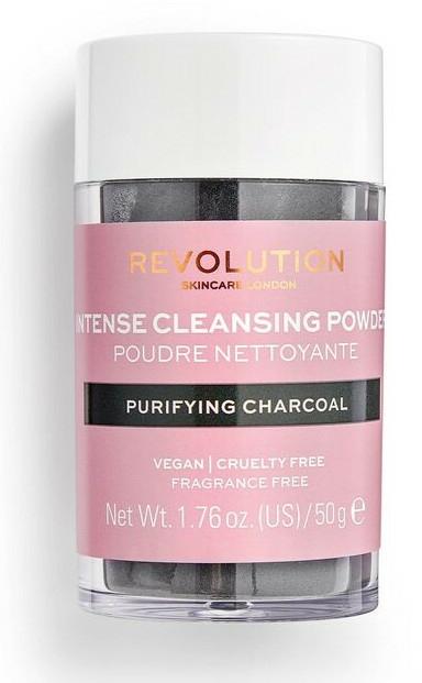 Oczyszczający puder do twarzy z węglem drzewnym - Revolution Skincare Purifying Charcoal Cleansing Powder — фото N1