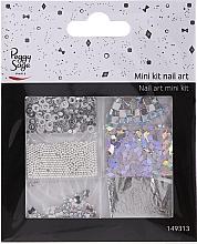 Kup Zestaw do zdobienia paznokci, 149313 - Peggy Sage Mini Kit Nail Art Argent