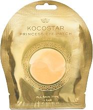 Kup Hydrożelowe płatki pod oczy, złote - Kocostar Princess Eye Patch Gold
