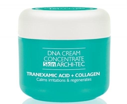 Skoncentrowany krem na twarz, szyję i dekolt Kwas traneksamowy i kolagen - Dermo Pharma DNA Cream Concentrate Skin Archi-Tec Tranexamic Acid + Collagen