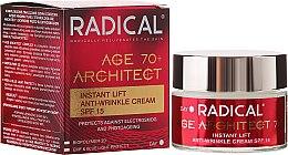 Kup Błyskawicznie napinający krem przeciwzmarszczkowy SPF 15 - Farmona Radical Age Architect 70+