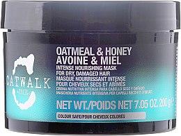 Kup Intensywnie odżywcza maska do włosów suchych i zniszczonych Owsianka i miód - Tigi Catwalk Oatmeal & Honey Intense Nourishing Mask