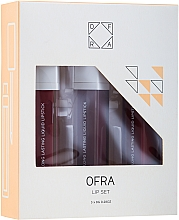 Kup Zestaw pomadek matowych w płynie - Ofra Espresso Lip Set (lipstick/3x8g)