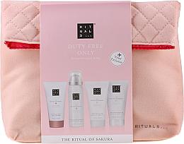 Kup Zestaw do pielęgnacji ciała - Rituals The Ritual of Sakura Renewing Treat (b/cr 70 ml + sh/gel 50 ml + shm 70 ml + b/scrub 70 ml + bag)