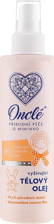 Odżywczy bioolejek do ciała dla dzieci od 1. dnia życia - Oncl'e Baby Oil — фото N1