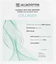 Kup Intensywnie regenerująca maska kolagenowa w płachcie - Academie Visage Collagen Intensive Age Recovery Mask