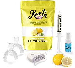Kup Zestaw do wybielania zębów Cytryna - Keeth Lemon Teeth Whitening Kit