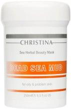 Kup Maska z błotem z Morza Martwego do skóry tłustej i problematycznej - Christina Sea Herbal Beauty Mask Dead Sea Mud