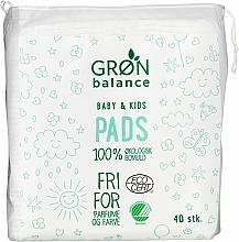 Kup Płatki kosmetyczne dla dzieci , 40 szt. - Gron Balance Baby & Kids Pads