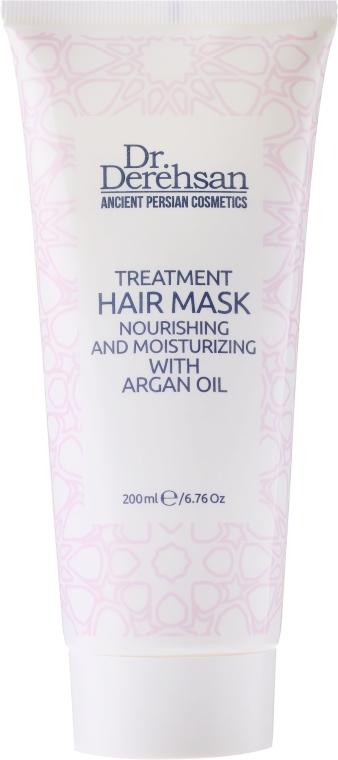 Odżywcza maska nawilżająca do włosów z olejem arganowym - Dr. Derehsan Hair Mask — фото N1