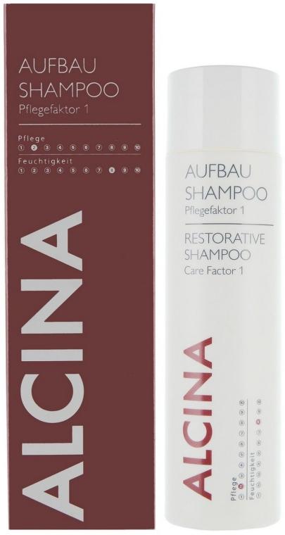 Regenerujący szampon do włosów - Alcina Hair Care Factor 1 Restorative Shampoo — фото N1