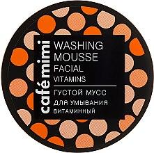 Kup Gęsty mus witaminowy do mycia twarzy - Café Mimi Washing Mousse Facial Vitamins