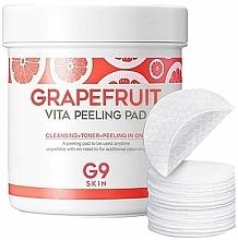 Kup Płatki peelingujące do oczyszczania skóry z grejpfrutem - G9Skin Grapefruit Vita Peeling Pad