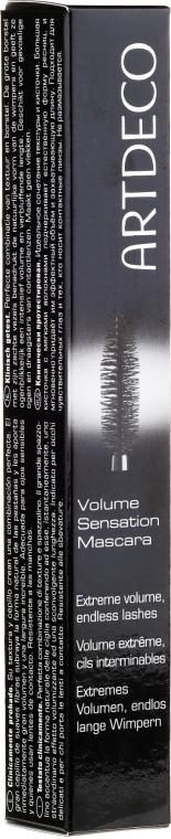Pogrubiający tusz do rzęs - Artdeco Volume Sensation Mascara