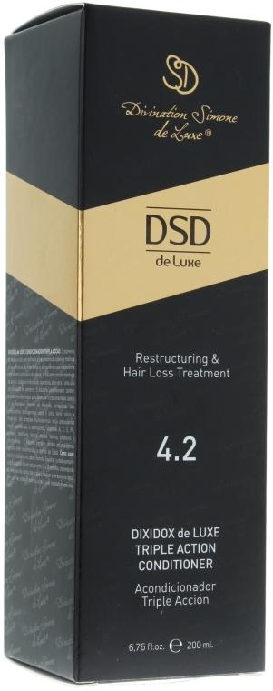Balsam-odżywka o podwójnym działaniu przeciw wypadaniu włosów N 4.2 - Simone Dixidox DeLuxe Triple Action Conditioner — фото N2