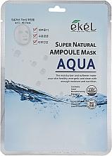 Kup Maska na tkaninie do twarzy intensywnie nawilżająca - Ekel Super Natural Ampoule Mask Aqua