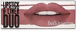 Kup Zestaw do makijażu ust - Bellapierre Lipstick & Liner Duo (lip/liner/ 1.5 g + lipstick/ 3.5 g)