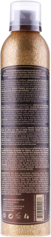 Oczyszczająca odżywka w piance do włosów 6 w 1 - Macadamia Natural Oil Flawless — фото N3