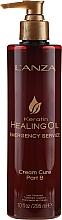 Kup Naprawczy krem do włosów - L'anza Keratin Healing Oil Emergency Service Cream Cure Part B