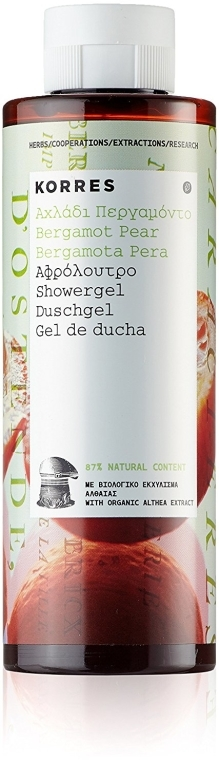 Żel pod prysznic Bergamotka i gruszka - Korres Bergamot Pear Shower Gel — фото N3