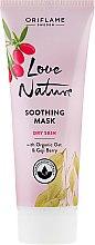 Kup Kojąca maseczka z owsem organicznym i jagodami goji - Oriflame Love Nature Soothing Mask