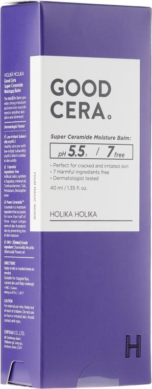Uniwersalny balsam ceramidowy do stosowania miejscowego - Holika Holika Good Cera Super Ceramide Moisture Balm