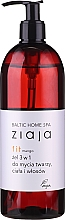 Kup Żel 3 w 1 do mycia twarzy, ciała i włosów Mango - Ziaja Baltic Home Spa Gel Mango