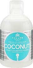 Kup Odżywczy szampon wzmacniający do włosów z olejem kokosowym - Kallos Cosmetics Coconut Shampoo