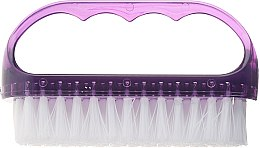Kup Szczoteczka kosmetyczna do paznokci, 74752, fioletowa - Top Choice