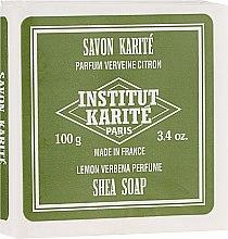 Kup Mydło w kostce Cytryna i werbena - Institut Karité Lemon Verbena Shea Soap