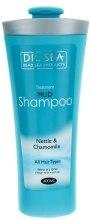 Kup Leczniczy błotny szampon z wyciągami z pokrzywy i rumianku - Dr. Sea Treatment Mud Shampoo