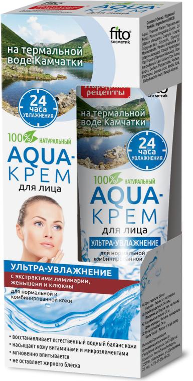 Aqua-krem na bazie wody termalnej z Kamczatki - FitoKosmetik Przepisy ludowe