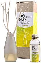 Kup Dyfuzor zapachowy (butelka z wymiennym wkładem 200 ml + wazon + 2 patyczki) - We Love The Planet Darjeeling Delight Diffuser