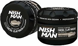 Kup Maska do twarzy - Nishman Facial Clay Mask Deep Cleansing