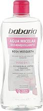 Kup Woda micelarna - Babaria Rose Hip Make-Up Remover Micellar Water