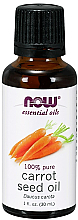 Kup Olejek eteryczny z nasion marchwi - Now Foods Essential Oils 100% Pure Carrot Seed Oil