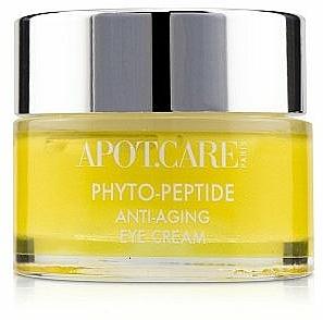 Przeciwzmarszczkowy krem pod oczy - APOT.CARE Phyto Peptide Eye Cream — фото N1