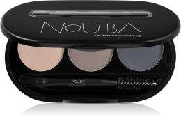 Kup Zestaw do stylizacji do brwi - Nouba Eyebrow Powder Kit