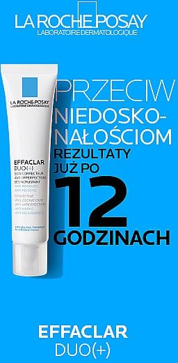 Krem korekcyjny do walki z niedoskonałościami skóry - La Roche-Posay Effaclar Duo+ — фото N14