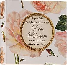 Kup Naturalne mydło w kostce Róża - Saponificio Artigianale Fiorentino Rose Blossom Soap