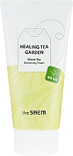 Kup Pianka do mycia twarzy - The Saem Healing Tea Garden Green Tea Cleansing Foam