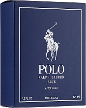Ralph Lauren Polo Blue After Shave - Balsam po goleniu — фото N1