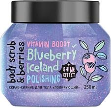 Kup Nabłyszczający peeling do ciała Borówka - MonoLove Bio Blueberry Iceland Polishing